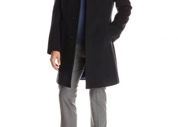 Tommy Hilfiger Men's Barnes Single-Breasted Walker Coat